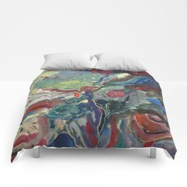 Brittany's water hole... Comforters