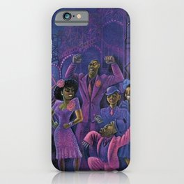African American Masterpiece 'Carmen Jones No. 1 by Miguel Covarrubias   iPhone Case