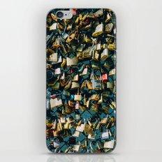 Paris Love Locks iPhone & iPod Skin