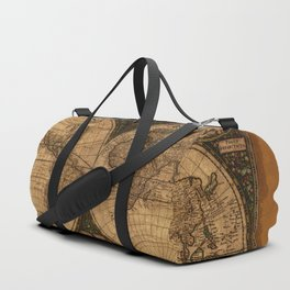 Nova Totius Terrarum Vintage Map Duffle Bag