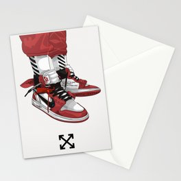 Off White Jordan 1 Poster Stationery Cards