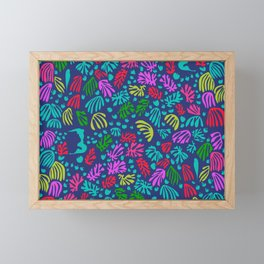 Matisse Colorful Pattern #4 Framed Mini Art Print