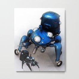 Spider robot Metal Print