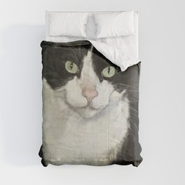 Cat Eightball Comforters