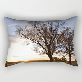 November Morning Sunrise Rectangular Pillow