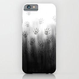 Terror Black Hands iPhone Case