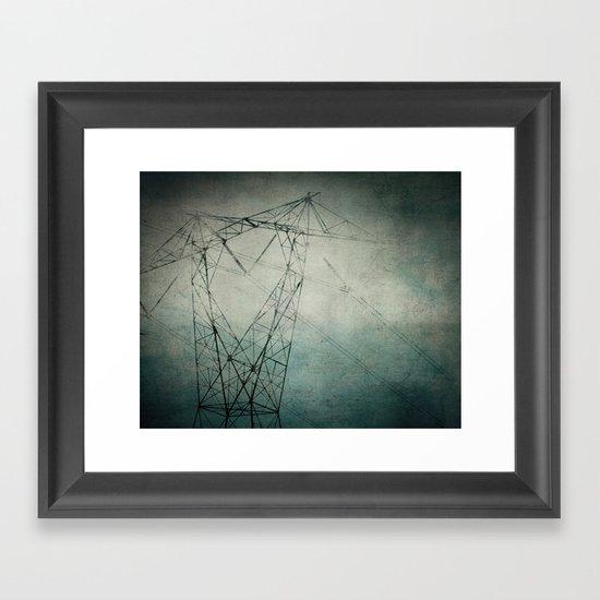 The Power of Line Framed Art Print