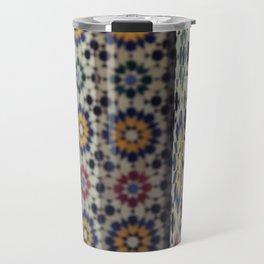 Flower Columns Travel Mug