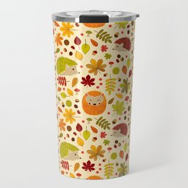 Hedghogs and Chestnuts Travel Mug