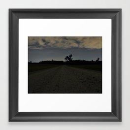 The Night Road Framed Art Print