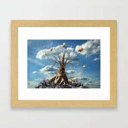 750 years old - happy birthday ! Framed Art Print