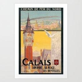 alt Calais Art Print