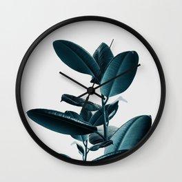 Ficus Wall Clock