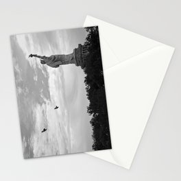 Black and White American Scene Stationery Cards