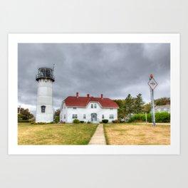 Chatham Light, Cape Cod Art Print
