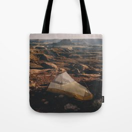Camp Canyonlands Tote Bag