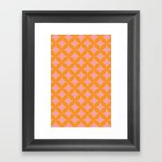 peach paradise Framed Art Print