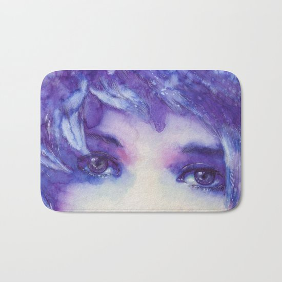 See behind your eyes Bath Mat