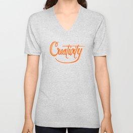 Creativity Unisex V-Neck