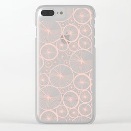 Pastel Wheels #society6 #pattern Clear iPhone Case