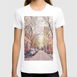 New York City - Springtime in the West Village T-shirt