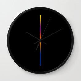 Minimalist fine line Wall Clock