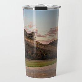 Lover's Cliff, Almont, North Dakota Travel Mug