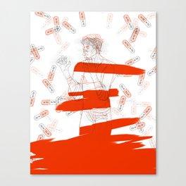 meltdown Canvas Print