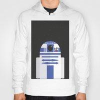 r2d2 Hoodies featuring R2D2 by FioMedina