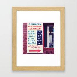 American Super whipped Framed Art Print