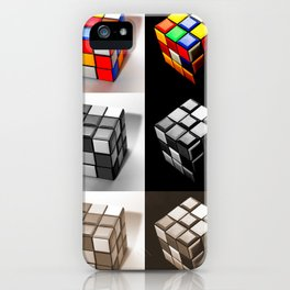 Rubiks Cube iPhone Case