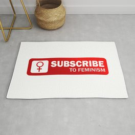 Subscribe to Feminism Rug