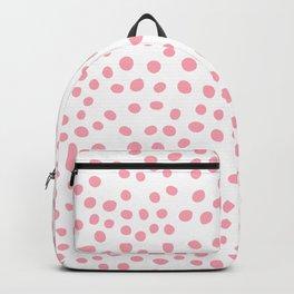 Hot Pink doodle dots Backpack