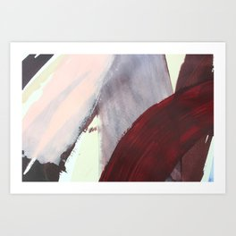 Be Bold and Move Along Art Print