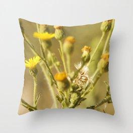 Yellows&Oranges Throw Pillow