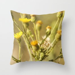 Yellows&Oranges Throw Pillow