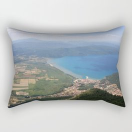 Akyaka and The Bay Of Gokova Photograph Rectangular Pillow