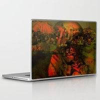 tom selleck Laptop & iPad Skins featuring Peeping Tom by Joe Ganech
