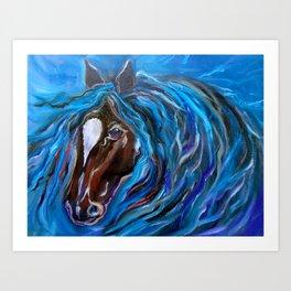Horse of Color Art Print