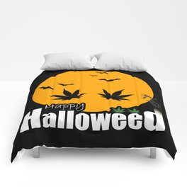 Happy Halloweed Comforters