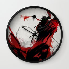 Spawn Wall Clock