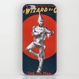 The Tin Man iPhone Skin