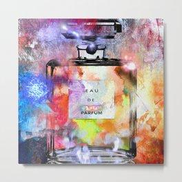 Parfum Painted Metal Print