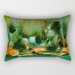 Abstract Oil painting Still Life Rectangular Pillow