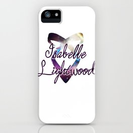 Isabelle Lightwood - Angelic Power Rune iPhone Case