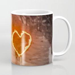 Burning hearts Coffee Mug