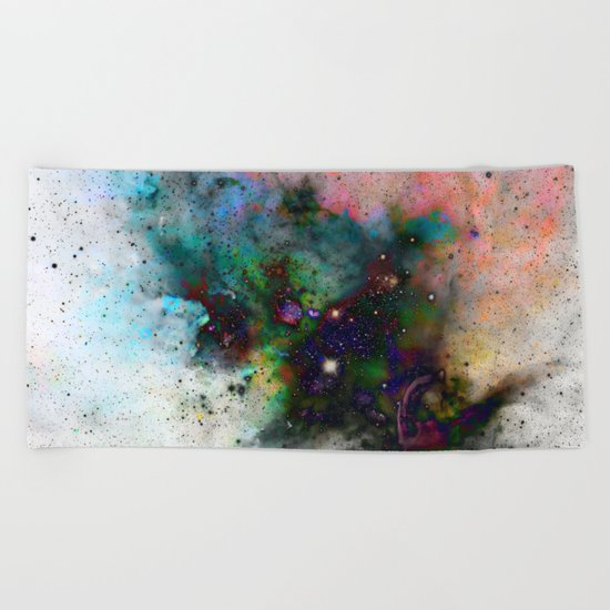 Everything is nothing 5 (therefore it was beautiful) Beach Towel
