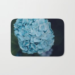 Blue Hydrangeas Bath Mat