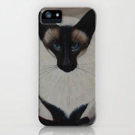 The Siamese Cat iPhone Case