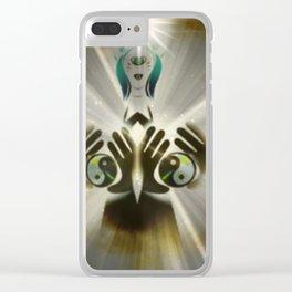 Balanced Energy Clear iPhone Case